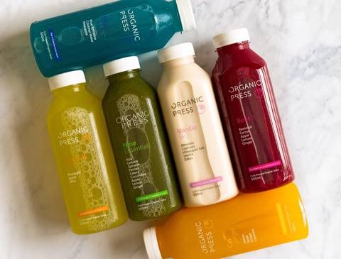 Organic Press Juices