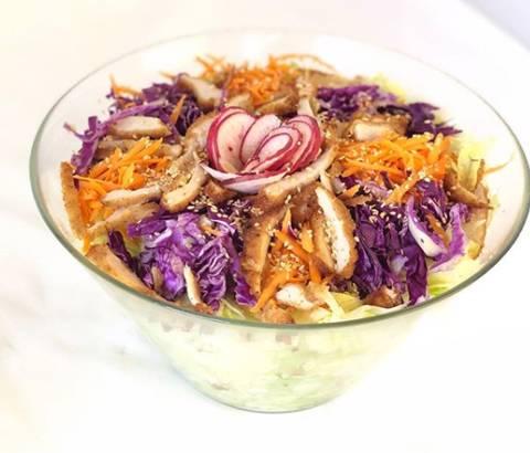 Japanese Crunchy Chicken Salad