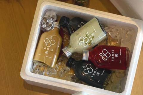 Cold Coffee Package for 12 Persons