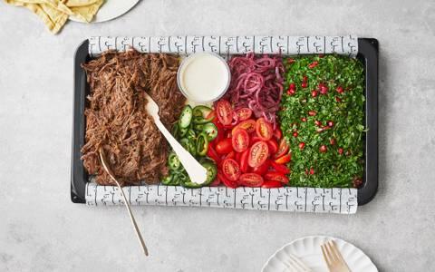 Beef Shawarma Platter