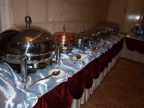 بوفيه العشاء الهندي