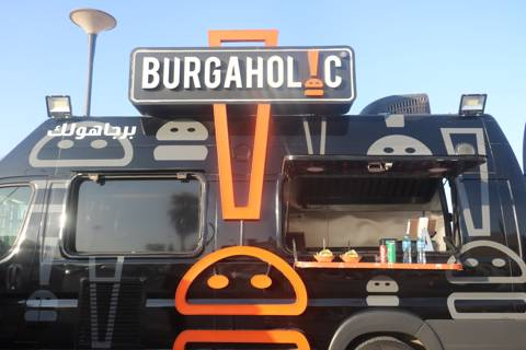 Burger Cart for 30 Persons