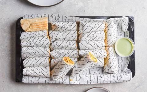 Chicken Shawarma Wraps