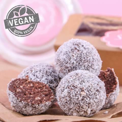 Vegan Coco Truffles
