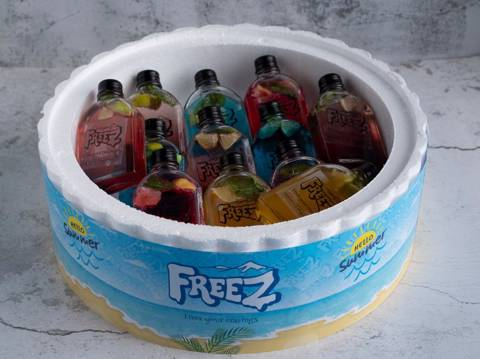 Cold Drinks Box for 10 Persons