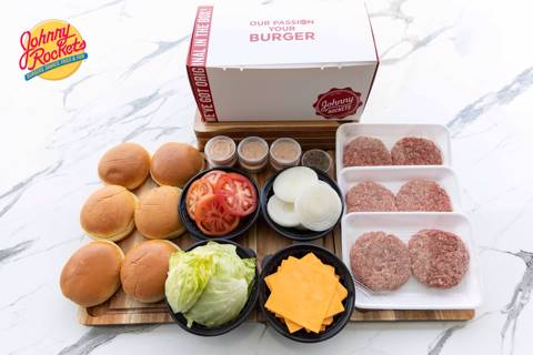 DIY Beef Burgers Box - Large