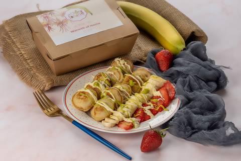 Mini Pancake & Mocktails Station