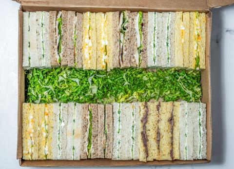 Mini Sandwiches Box