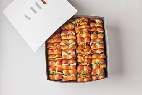 Mixed Brioche Sandwiches