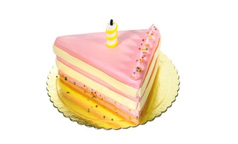 My Birthday Cake Slice