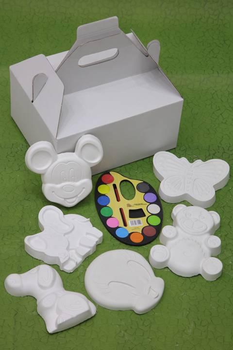 Gypsum Coloring Box - Small