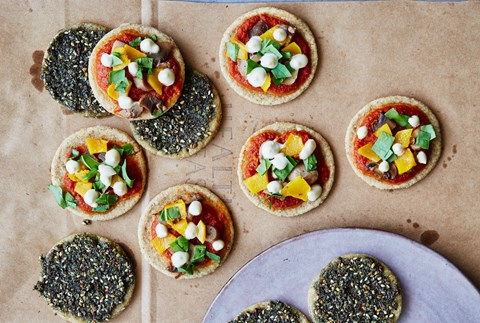 Shareable Mini Pizza