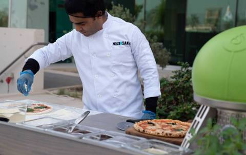 Pizza Station for 10 Persons