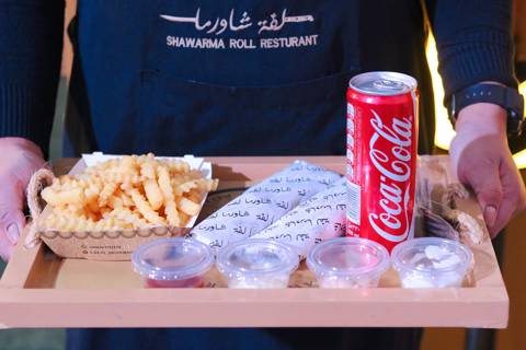 Shawarma Station for 40 Persons