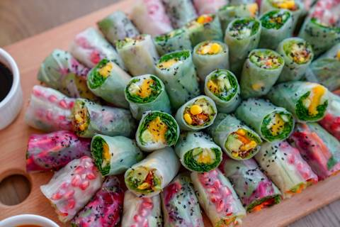 Veggie Rice Rolls - Medium