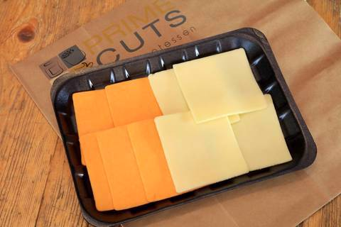 American Sliced Yellow Cheddar Cheese